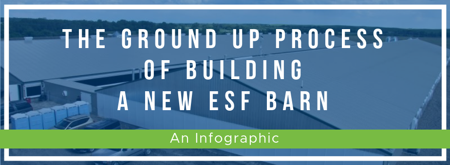 The Ground Up Process of Building a New ESF Barn (2)
